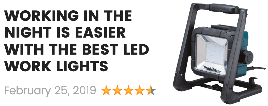 the best led work lights