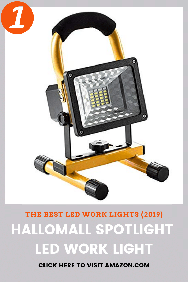 The best LED work light to buy is the Hallomall