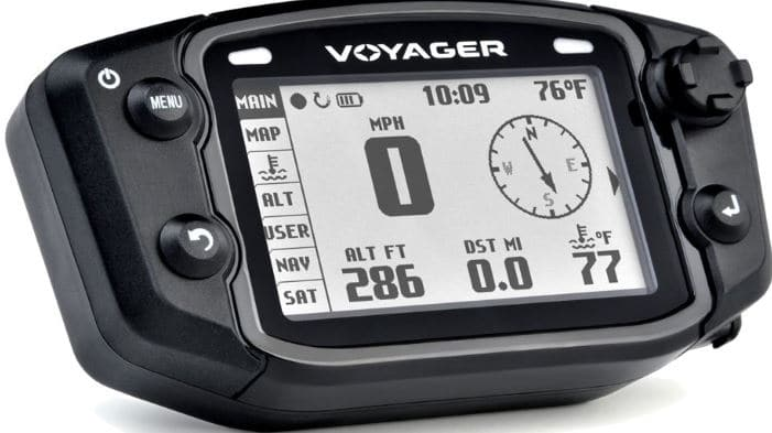 Trail Tech's Advanced 912-502 Black Moto-GPS Computer