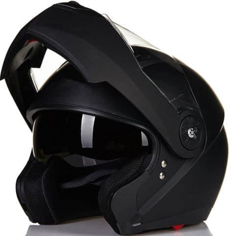 ILM's Best Motorcycle Modular Flip up Dual Visor Helmet