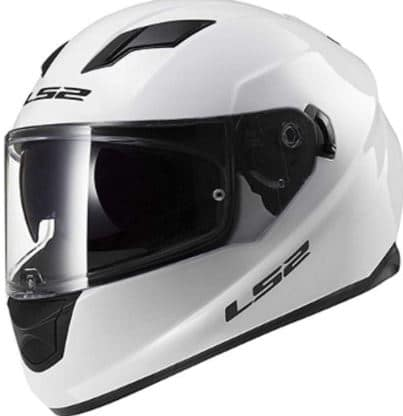 LS2's Best WHite Full Face Motorcycle Helmet