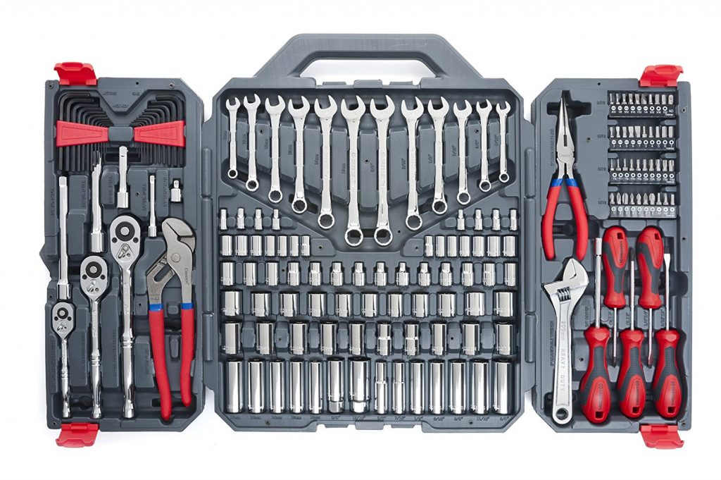 how to use a mechanical tool set
