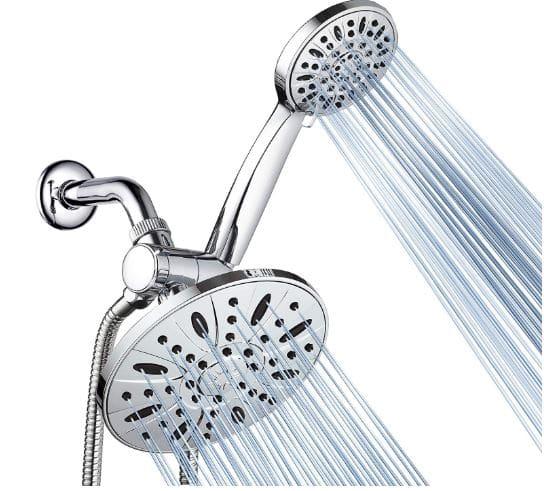 AquaDance Best Premium High Pressure Rainfall Shower Combo