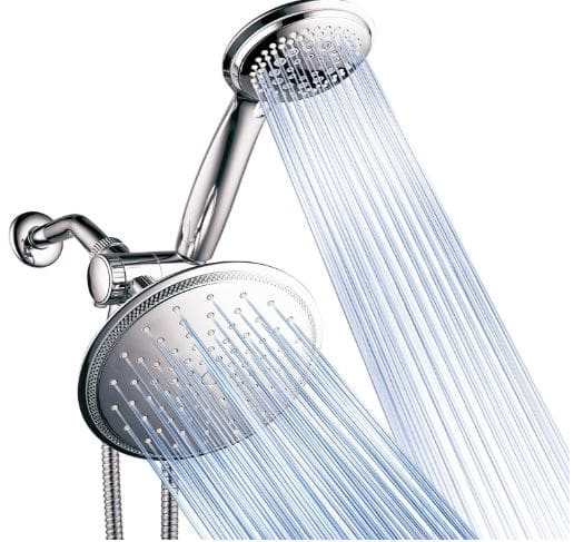 DreamSpa's Best 3-way Rainfall Shower-Head and Handheld Shower
