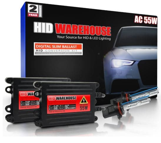 HID-Warehouse 5K Bright White 55W AC Xenon HID Lights