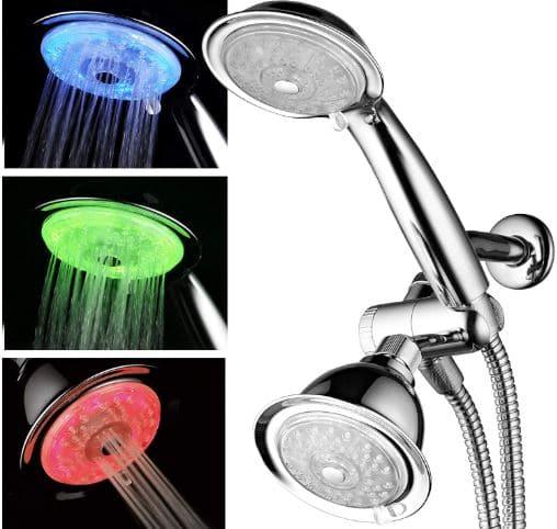 PowerSpa's Best Luminex LED Shower Head