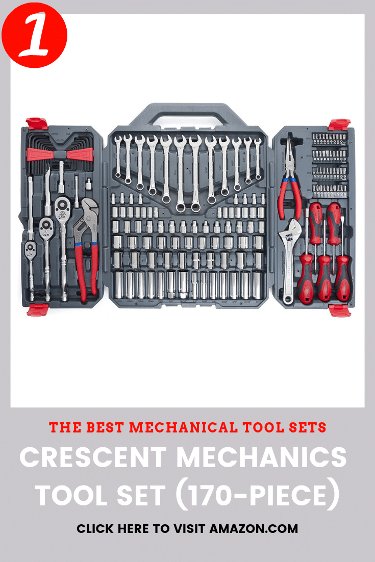 the best tool set to buy is the Crescent CTK170CMP2