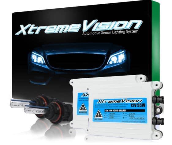 XtremeVision Premium Slim AC Ballast HID Lights