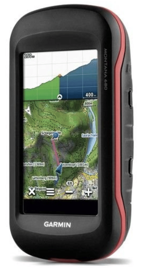 Garmin Montana 680 Touchscreen GPS