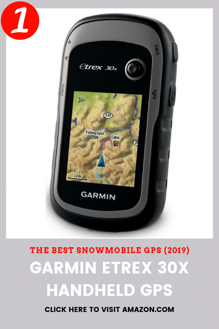 the best snowmobile gps to buy is the Garmin eTrex 30x