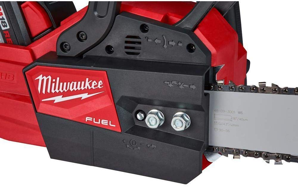 milwaukee chainsaw features