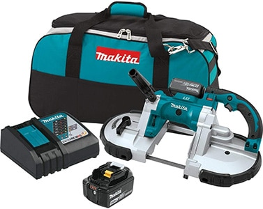 makita xbp02tx portable band saw kit